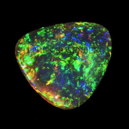 opale noire australienne